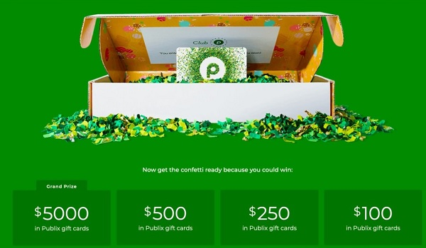 Club Publix Sweepstakes