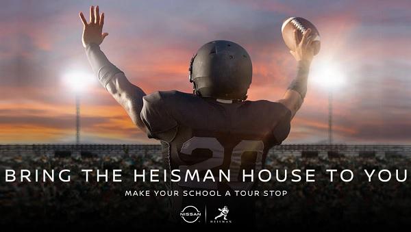 Nissan Heisman House Sweepstakes 2020