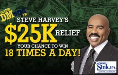 Big DM Steve Harvey 25K Relief Contest