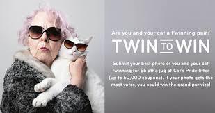 Cats Pride Twin to Win Photo Contest