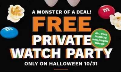 Cinemark Halloween Giveaway