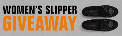 Harley-Davidson Footwear Slippers Giveaway