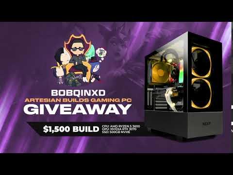 Bobqin $1500 Gaming PC Giveaway