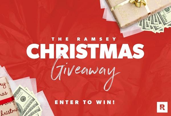 Dave Ramsey Christmas Giveaway Sweepstakes