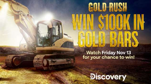 Discovery Gold Rush Giveaway Code Word