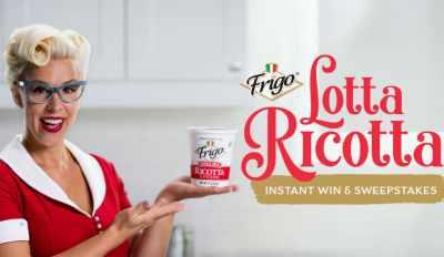 Frigo Cheese Lotta Ricotta Instant Win Game