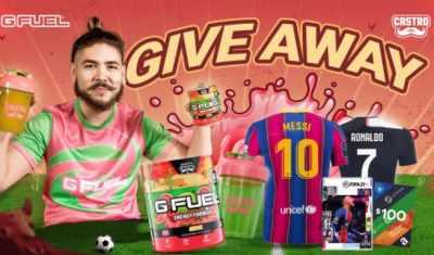 G FUEL Castro Giveaway