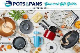 PotsandPans Gourmet Gift Guide Sweepstakes