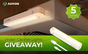 Rechargeable Under Cabinet Lights Giveaway