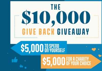 TapOnIt Give Back Giveaway