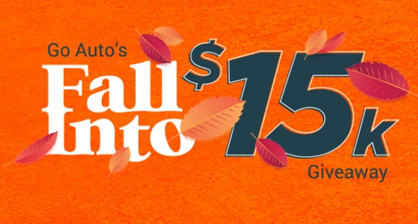 Go Auto's Fall Cash Sweepstakes