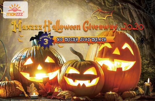 Maxzzz Halloween Giveaway 2020