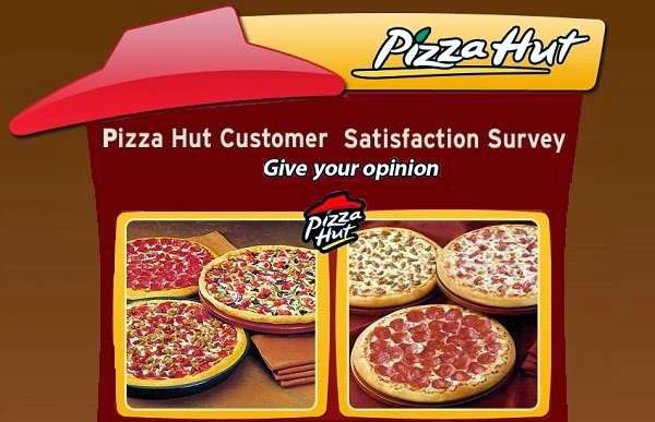My Pizza Hut Visit Survey Daily & Weekly Sweepstakes