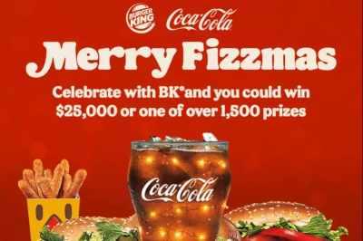 Burger King A Very Merry Fizzmas Sweepstakes