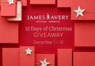 Jamesavery.com/christmasgiveaway