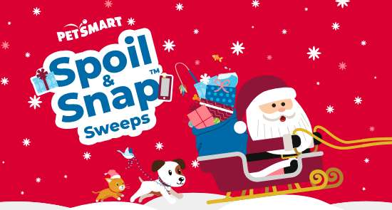 PetSmart Spoil and Snap Sweepstakes