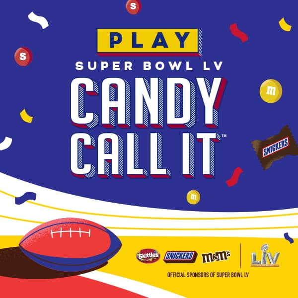 Mars Super Bowl LV Candy Call It Sweepstakes 2021