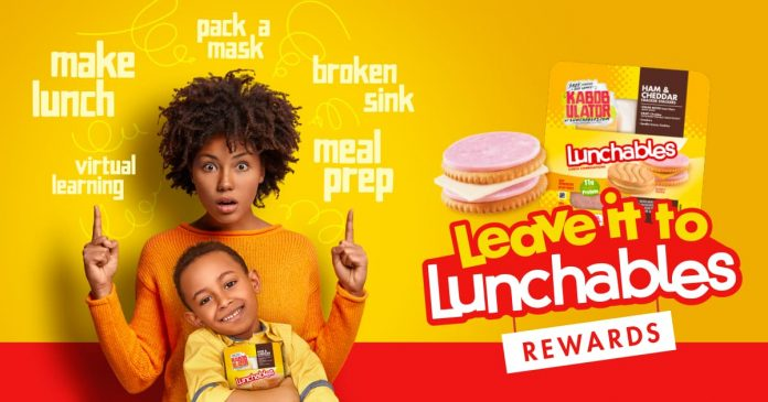Leave It To Lunchables Rewards Sweepstakes 2021