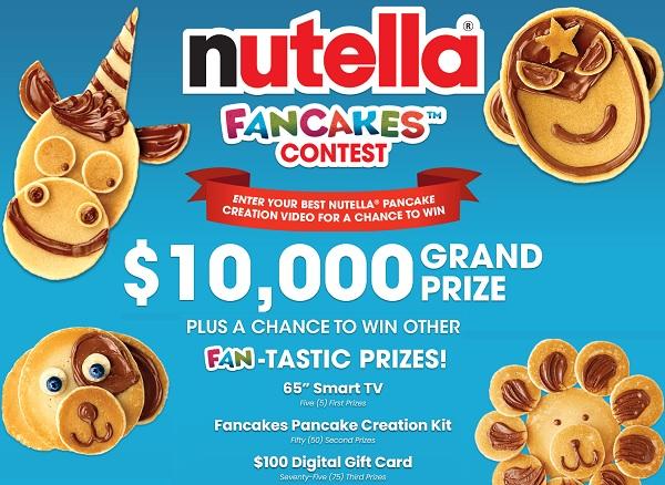 Nutella Fancakes Contest 2021