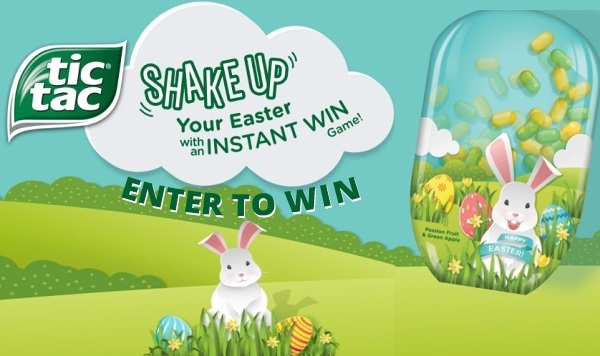 Tic Tac Shake Up Easter Game 2021