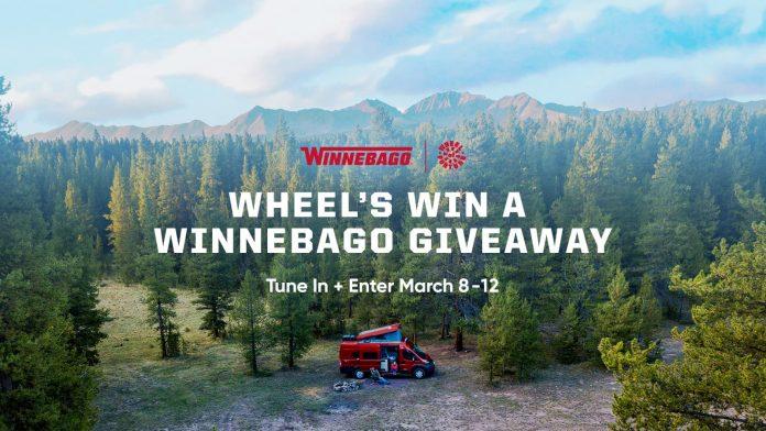 Wheel Of Fortune Win A Winnebago Sweepstakes 2021