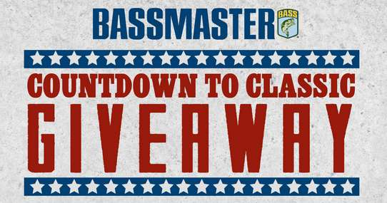 Bassmaster Countdown to Classic Giveaway