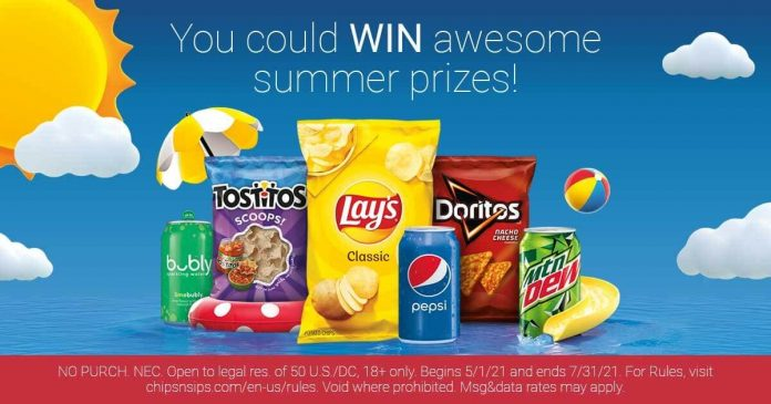 Chips 'N Sips Sweepstakes 2021
