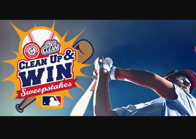 MLB Clean Up and Win Sweepstakes 2021