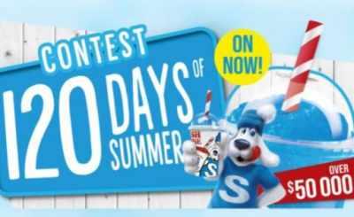 Slush Puppie 120 Days of Summer Contest