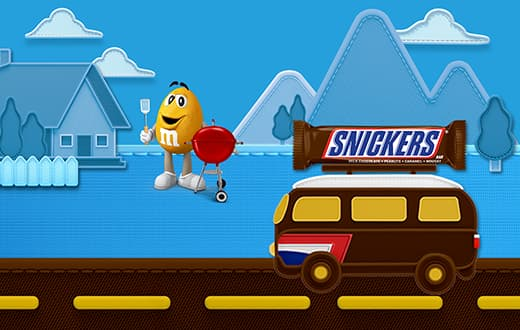 Snickers Never Stop Summering Sweepstakes 2021