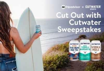Tripadvisor Cut Out with Cutwater Sweepstakes