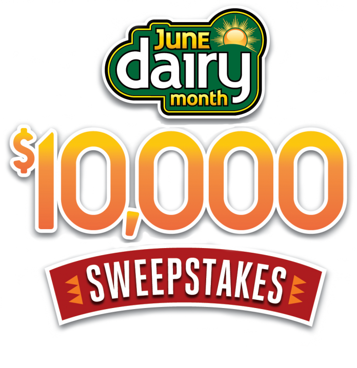 June Dairy Month $10,000 Sweepstakes 2021