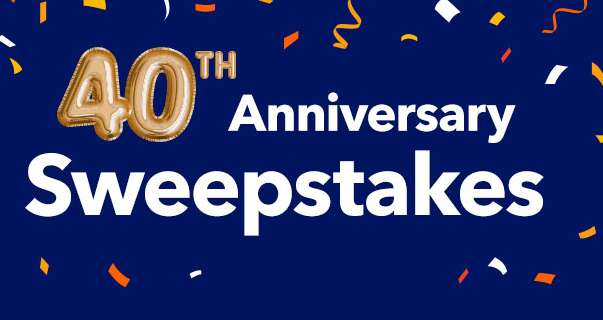 Comfort 40th Anniversary Sweepstakes 2021