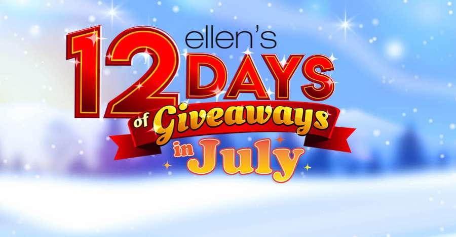 Ellen DeGeneres 12 Days Of Giveaways 2021