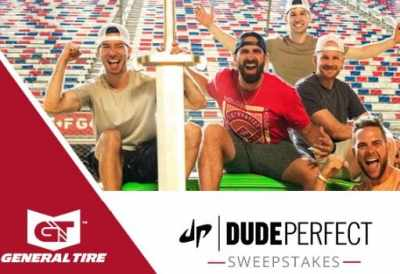 General Tire Dude Perfect Sweepstakes