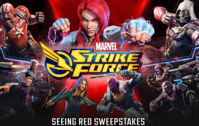 Marvel Strike Force Seeing Red Sweepstakes