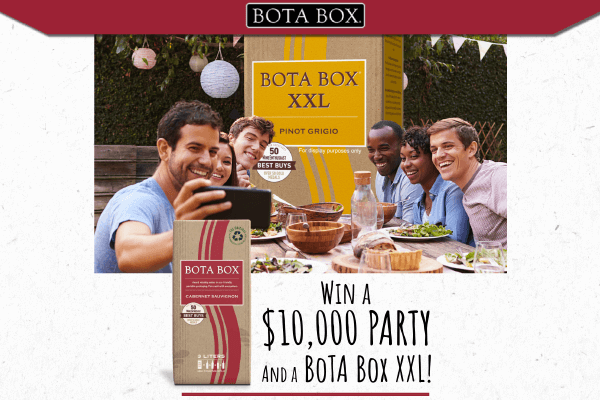 Bota Box XXL Block Party Sweepstakes 2021