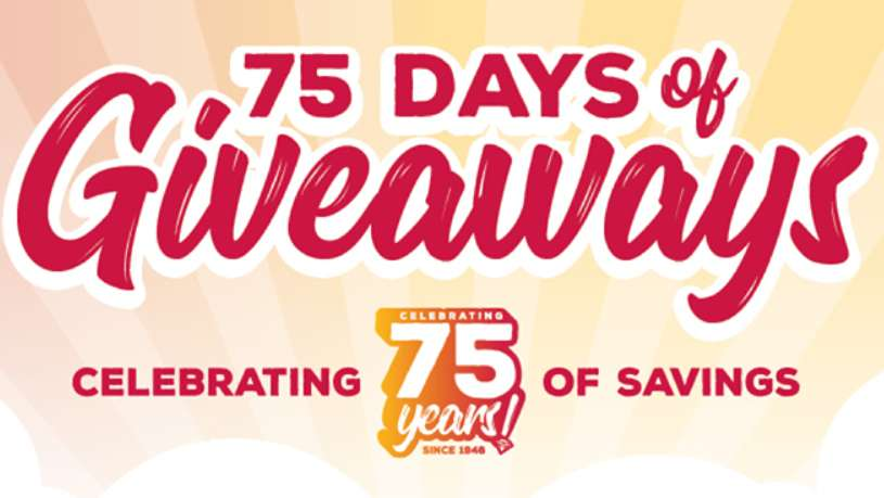 Grocery Outlet 75 Days Of Giveaways 2021