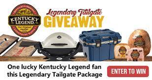 Kentucky Legend Legendary Tailgate Giveaway