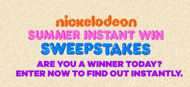 Nickelodeon Summer Sweepstakes 2021