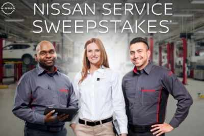 Nissan Service Sweepstakes
