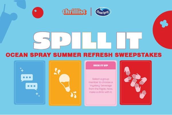Ocean Spray - Summer Refresh Sweepstakes