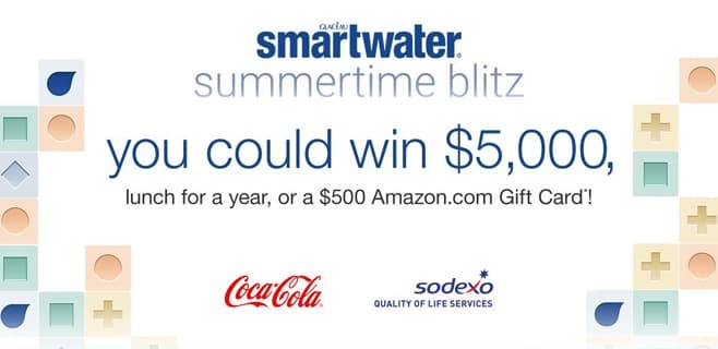 SmartWater Summertime Blitz Sweepstakes 2021