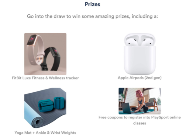 Playsport Active at Home Giveaway