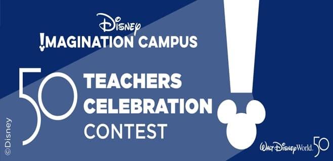 Disney 50 Teachers Contest
