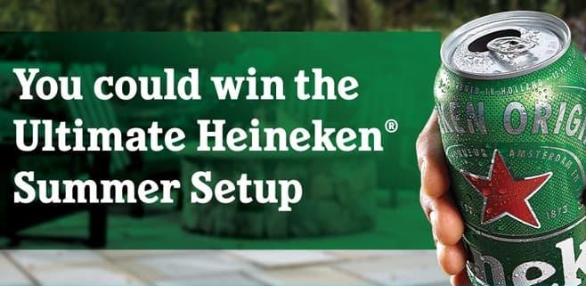 Heineken Summer of Can Sweepstakes 2021