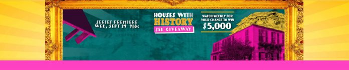 Houses Of History HGTV Sweepstakes 2021