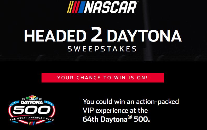 NASCAR Heading 2 Daytona Sweepstakes 2021