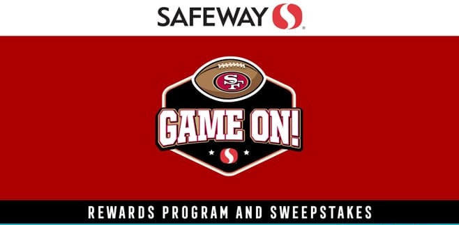 Safeway Game On Sweepstakes