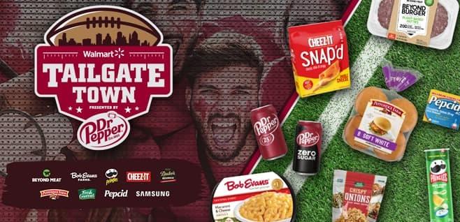 Walmart Taste Of Tailgate Dr Pepper Sweepstakes